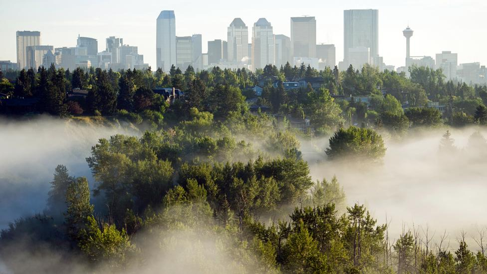 Calgary winters are harsh but early summer days make residents forget. (Credit: Getty Images)