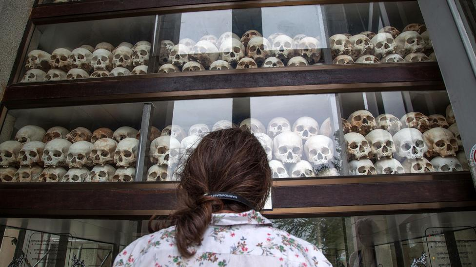 Pol Pot was responsible for the deaths of millions of Cambodians (Credit: Getty Images)