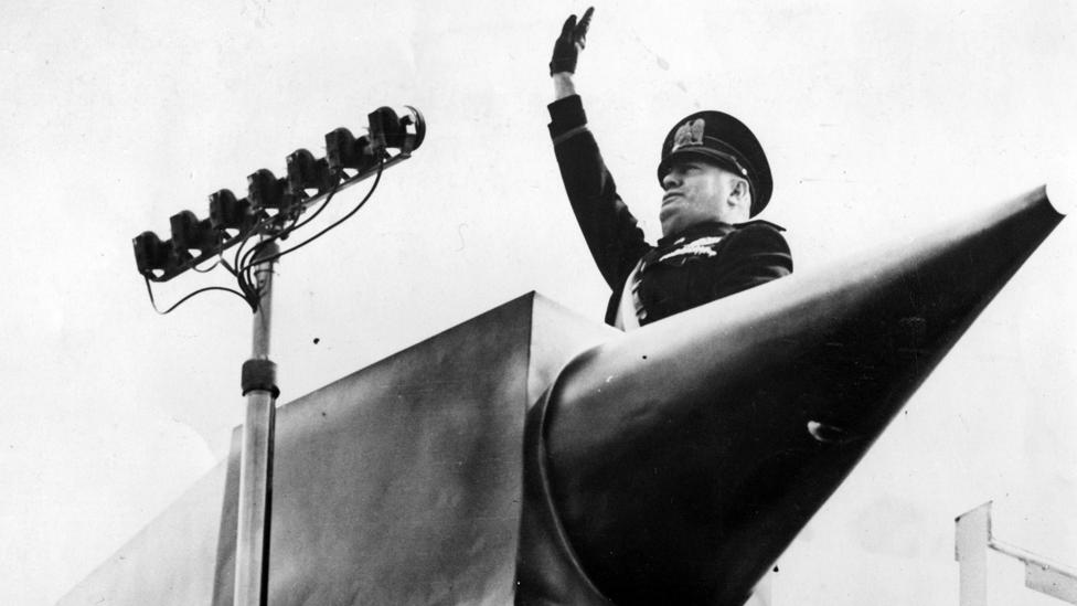 Mussolini ruled constitutionally until 1925, when he made himself a dictator (Credit: Getty Images)
