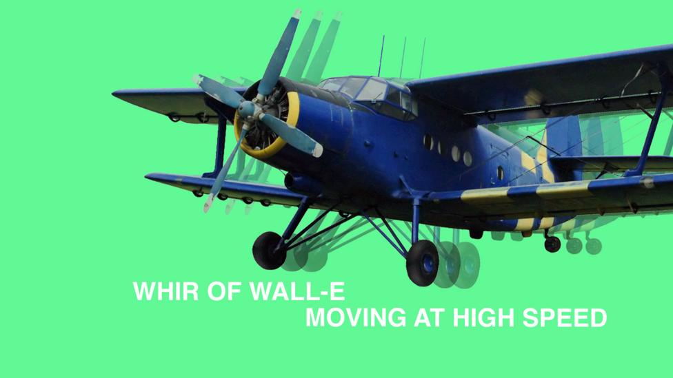The movie Wall-E was packed with sounds - including biplanes (Credit: Olivia Howitt)