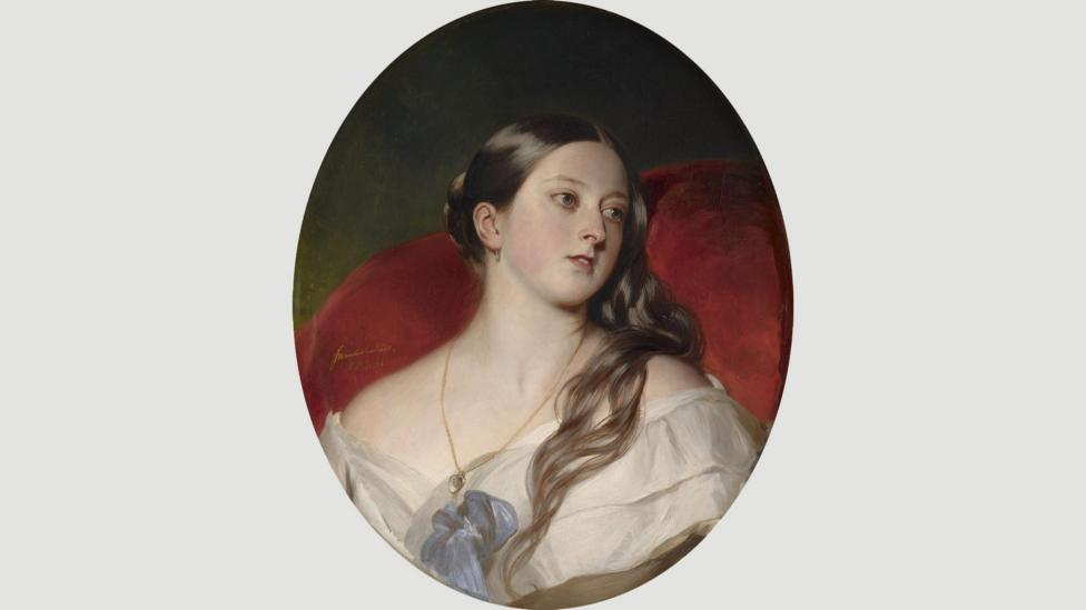 Albert said that this painting by the German artist Franz Winterhalter was his favourite depiction of his wife (Credit: Corbis)