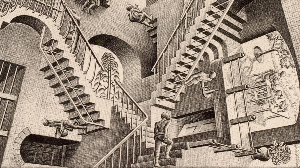Relativity (Credit: 2015 The M.C. Escher Company – Baarn, The Netherlands)
