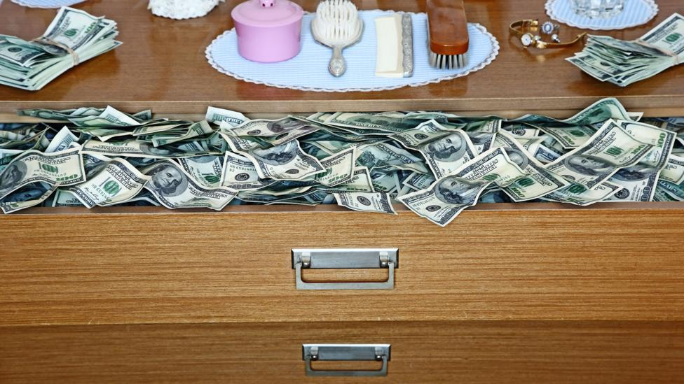 How much cash do you have stored in your home? (Credit: Getty Images)