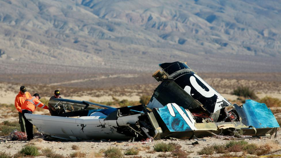 The crash has sparked charges in the design of Virgin Galactic's spaceplane (Credit: Getty Images)