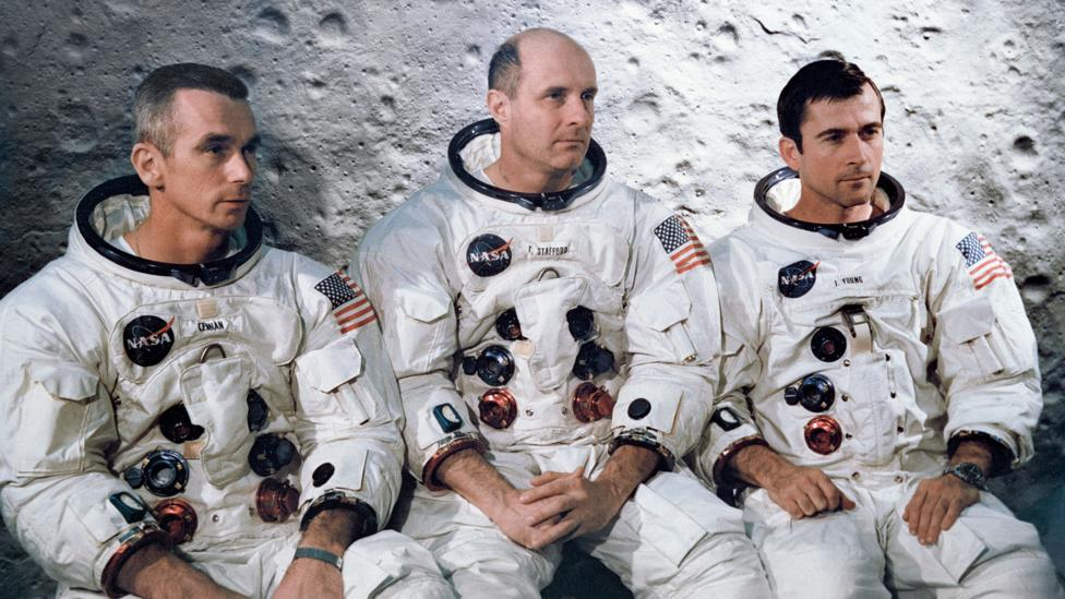 The Apollo 10 astronauts are probably the fastest humans in history - but for how long? (Nasa)