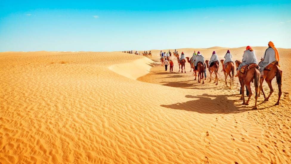 Humanity's footprint extends to all places, even deserts (Credit: Thinkstock)