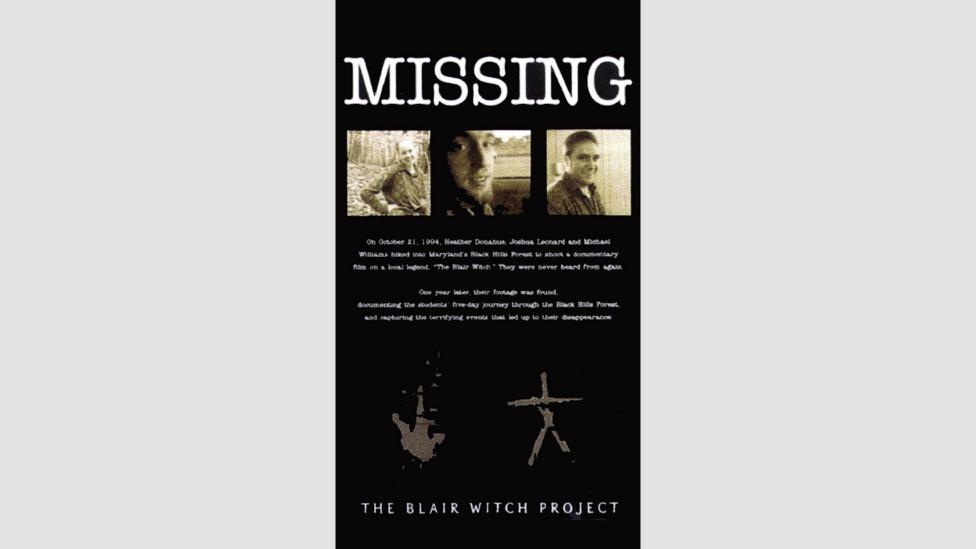 A website that detailed the Blair Witch mythos added to the film's perceived authenticity (Credit: AF archive / Alamy)