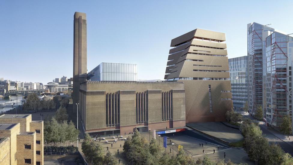 Tate Modern in London, United Kingdom (Credit: Getty Images/Herzog & De Meuron)