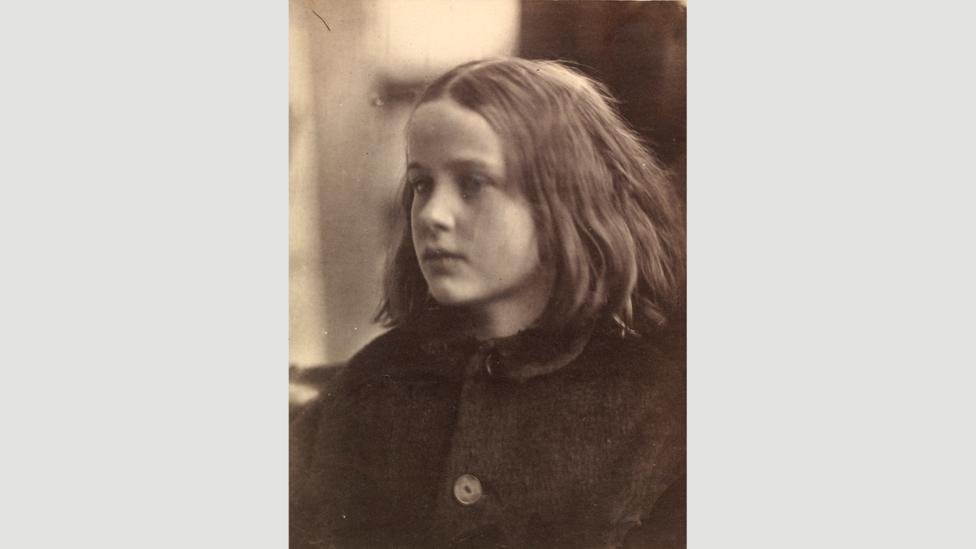 "Cameron, who took this photograph, Annie, within a month of receiving her camera, immediately dubbed it her ""first success"" (Credit: Victoria and Albert Museum, London)"