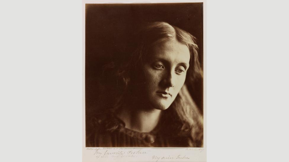 Julia Margaret Cameron called her 1867 portrait of her niece Julia Jackson 'my favourite picture' (Credit: National Media Museum, Bradford)