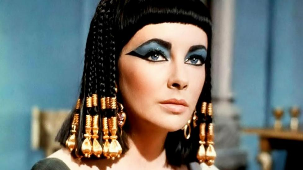 The notion of ancient Egyptians as glamorous comes largely from Cleopatra, whose wiles ensnared Caesar – Elizabeth Taylor did not discredit that idea (Credit: 20th Century Fox)