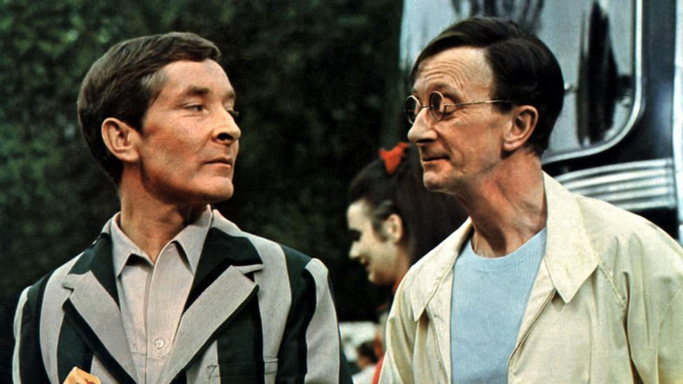 The wordplay and innuendo of the Polari anti-language became core characteristics of the camp humour championed by the likes of Kenneth Williams (Credit: Alamy)