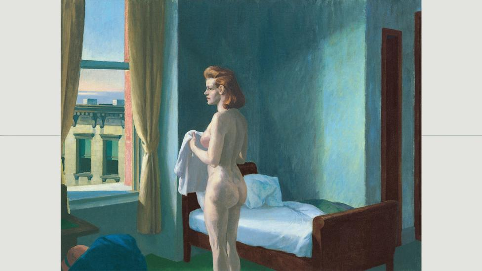 """In Hopper's Morning in a City, Laing says, """"the mood is peaceful, and yet the faintest tremor of unease is discernible"""" (Credit: Morning In a City (1944)/Edward Hopper/Alamy)"""