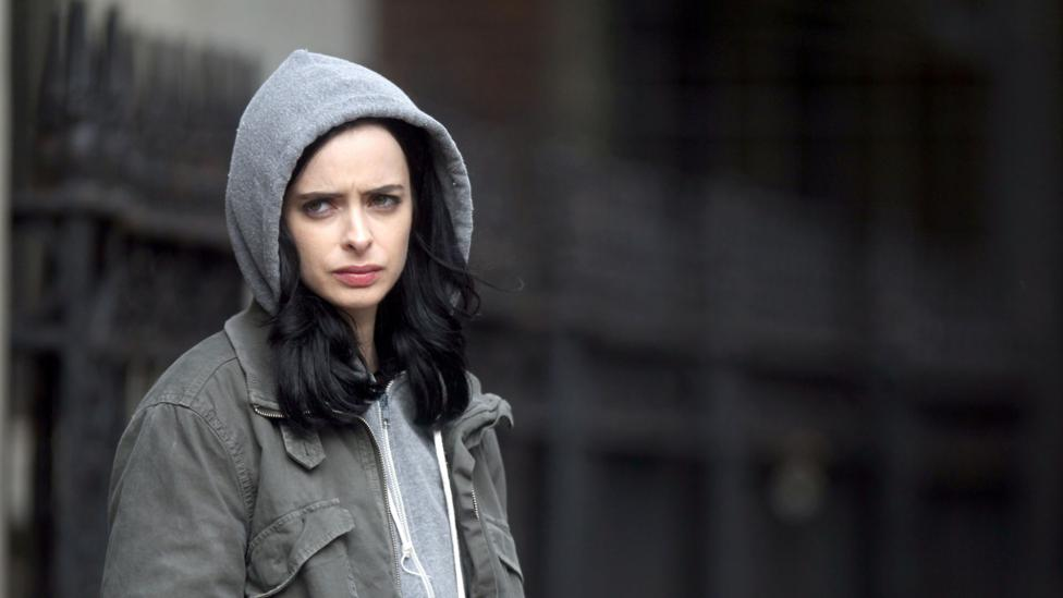 Jessica Jones is based on the Marvel Comics title Alias, which began in 2001 and follows a super-powered private detective (Credit: Netflix)