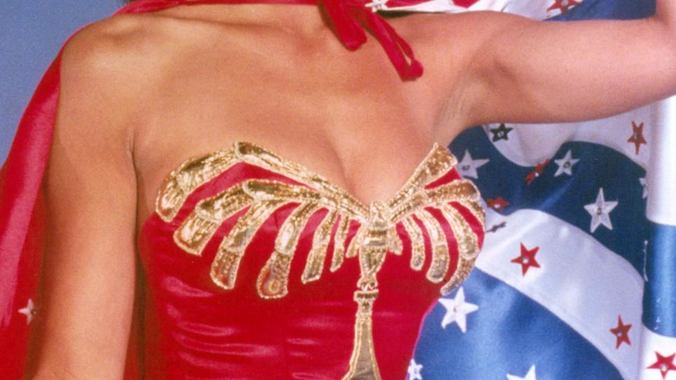 William Moulton Marston created Wonder Woman to be a feminist symbol in 1941 – she was portrayed on US TV by Lynda Carter in the 1970s (Credit: Rex Features)