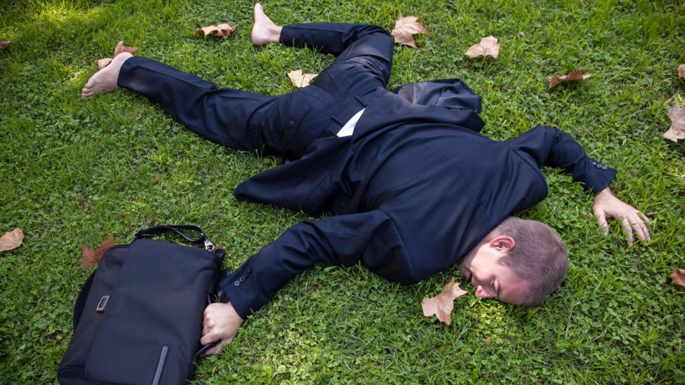Falling flat on your face has its upside. (Credit: Alamy)