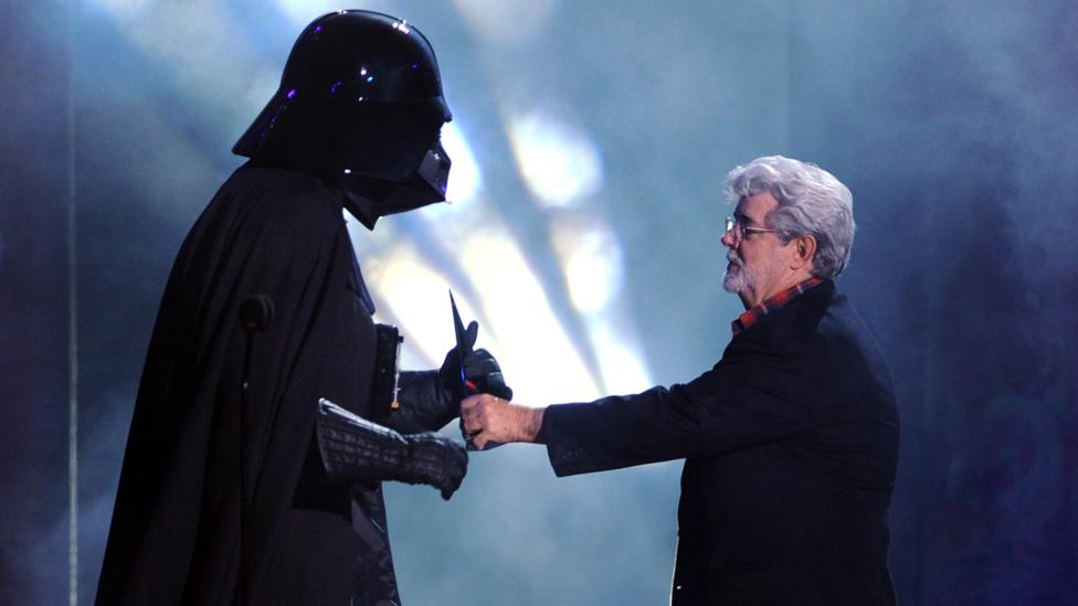 Iconoclast bosses, like filmmaker George Lucas, are usually seen as creative geniuses who welcome new collaborations. (Credit: Kevin Winter/Getty Images)
