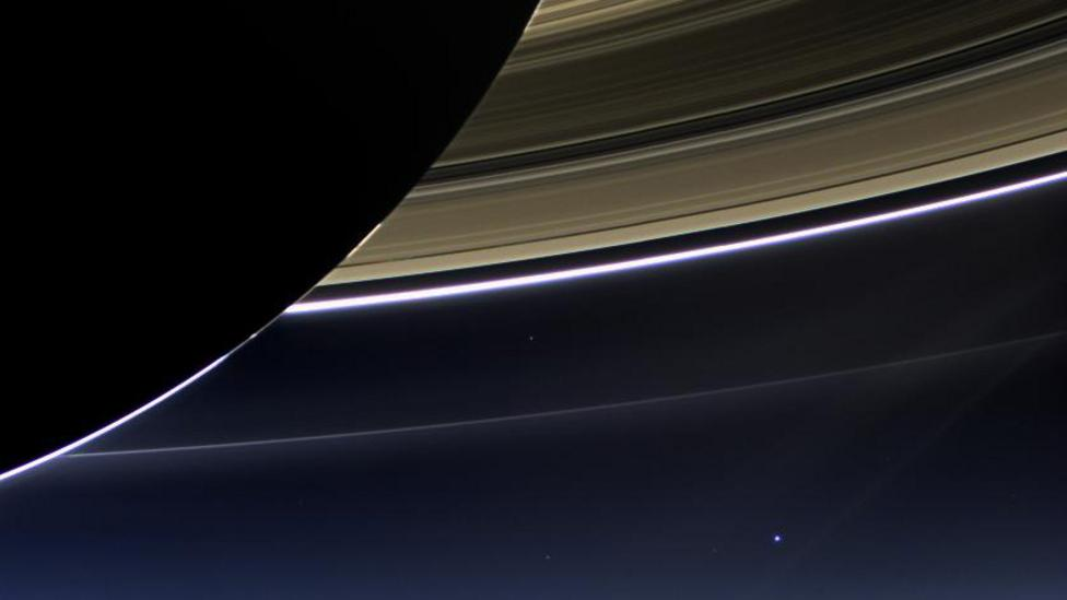 For more than a decade, NASA's Cassini spacecraft has been studying the Saturnian system and Titan (Credit: NASA/JPL-Caltech/Space Science Institute)