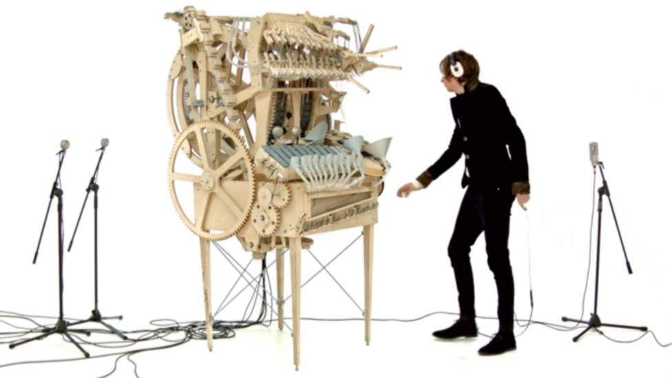 Swedish band Wintergatan's Marble Machine (Credit: Wintergatan)