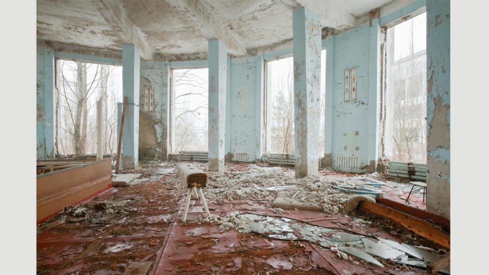 The ruins of Pripyat