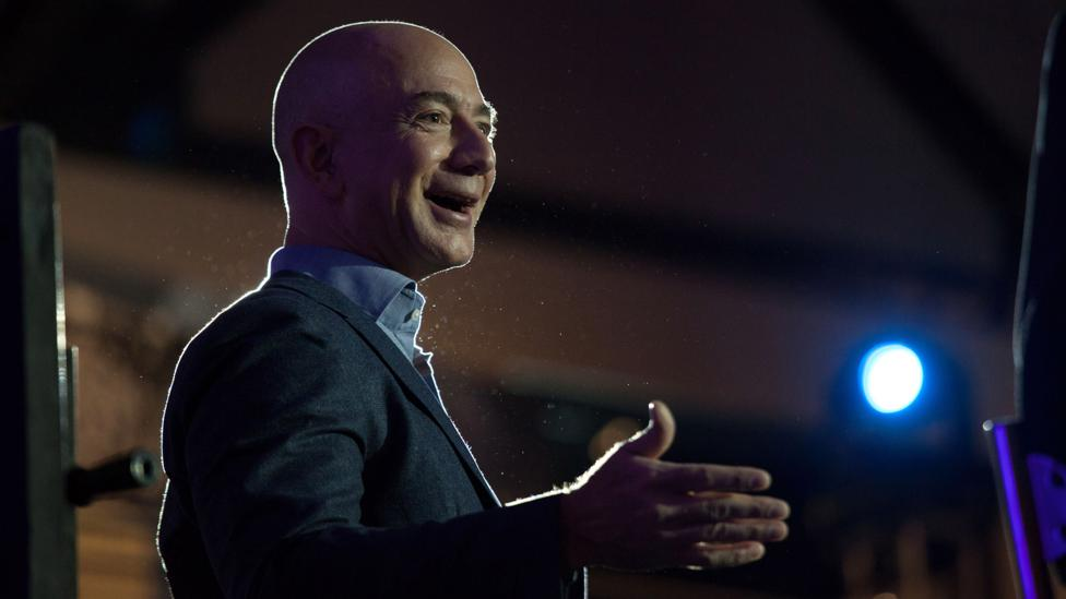 Amazon's Jeff Bezos has invested in the company General Fusion (Credit: Getty Images)