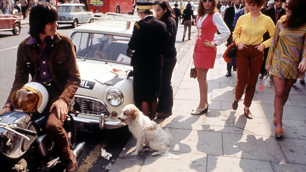 Passersby on Kings Road in 1966 (Credit: Pictorial Press Ltd/Alamy)