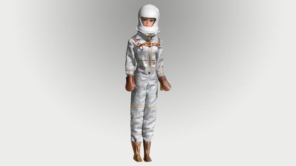 Barbie adopted the Jackie Kennedy bubble cut and an astronaut look in the 1960s (Credit: Mattel)
