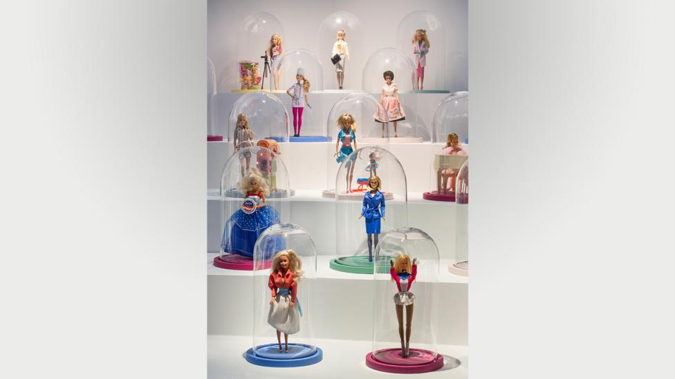 The exhibition at Les Arts Décoratifs features 7,000 Barbie wardrobe designs (Credit: Les Arts Décoratifs)
