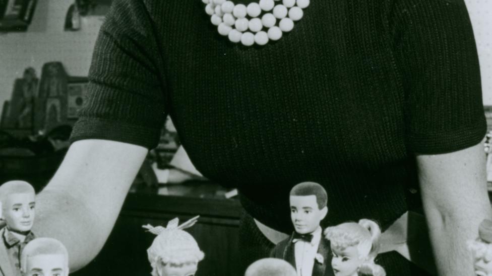 Ruth Handler, the wife of Mattel co-founder Elliot was the brains behind the original Barbie design (Credit: Mattel)