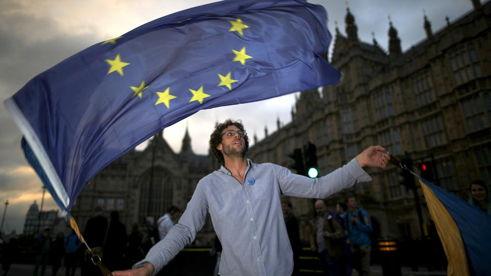 For many European millennials in the UK, the future is now uncertain (Credit: Getty Images)