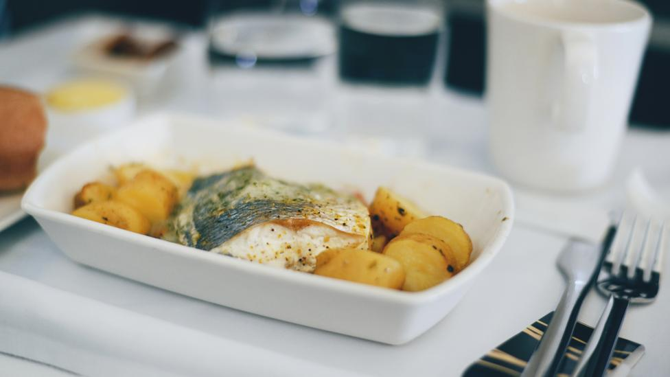 Eating light options – or even skipping meals – can help combat jet lag (Credit: Getty Images)