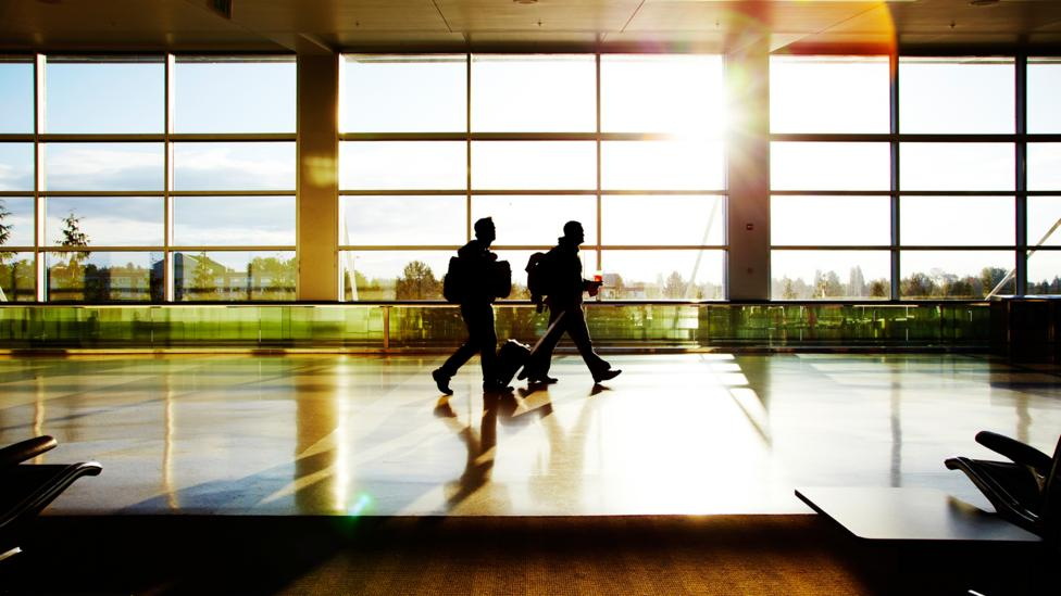 Getting to your flight in plenty of time can avoid panic – and physical stress (Credit: Getty Images)