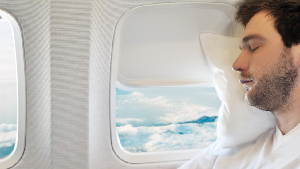 Even the wrong kind of pillow can cause fliers physical problems that add to jet lag (Credit: Getty Images)