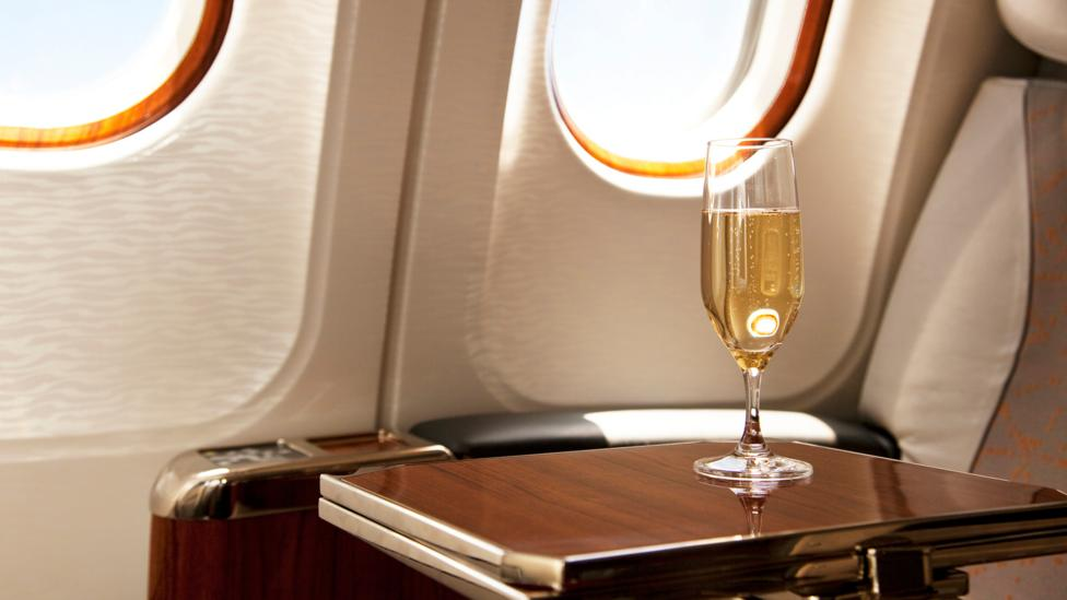 Alcohol is dehydrating – and its effects are amplified in flight (Credit: Getty Images)