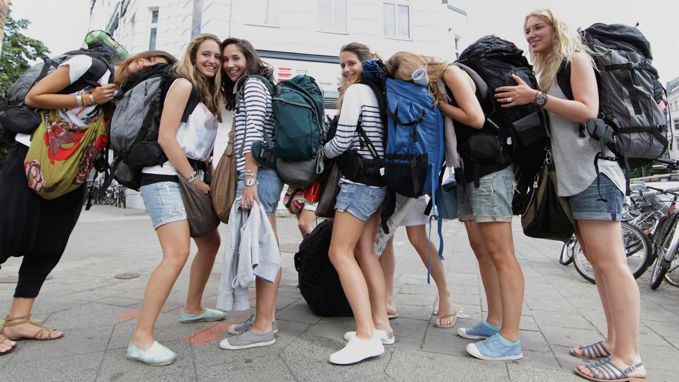 Gap years have been a rite of passage for young people since the 1960s (Credit: Getty Images)