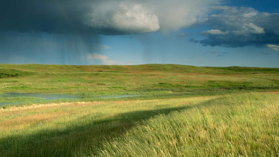 The method was developed to try and break a drought in the US state of North Dakota (Credit: Getty Images)