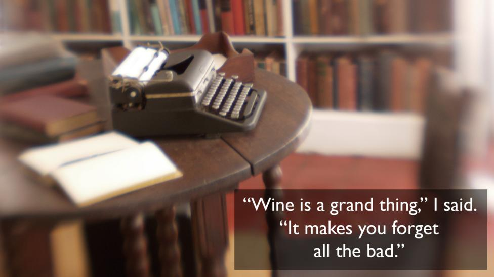 On wine, from A Farewell to Arms