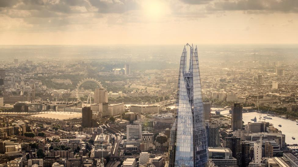 The Shard is western Europe's tallest building (Credit: Getty Images)