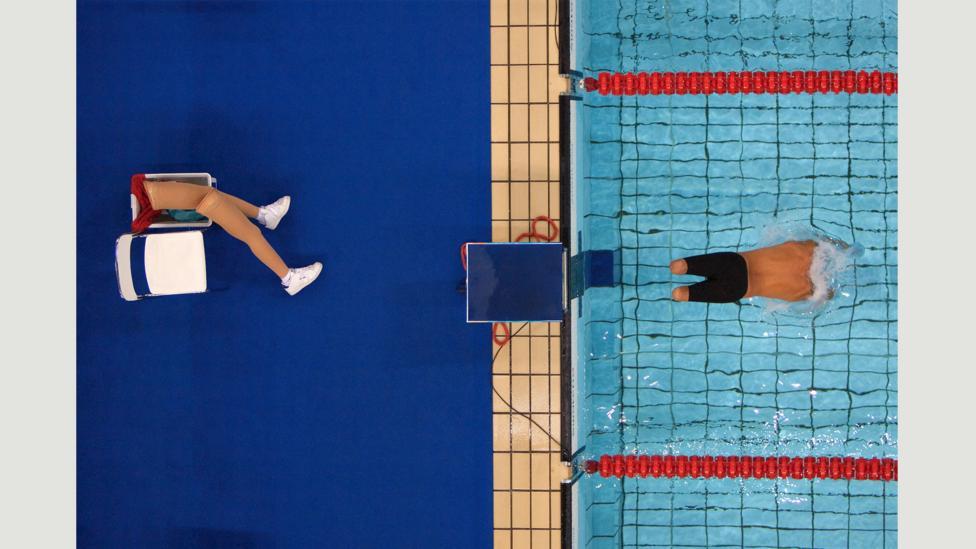 Avi Torres, 2004 Athens Paralympic Games (Credit: Bob Martin/Sports Illustrated)