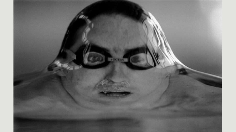 Australian Swimmer Matthew Dunn, 1993 (Credit: Tim Clayton)
