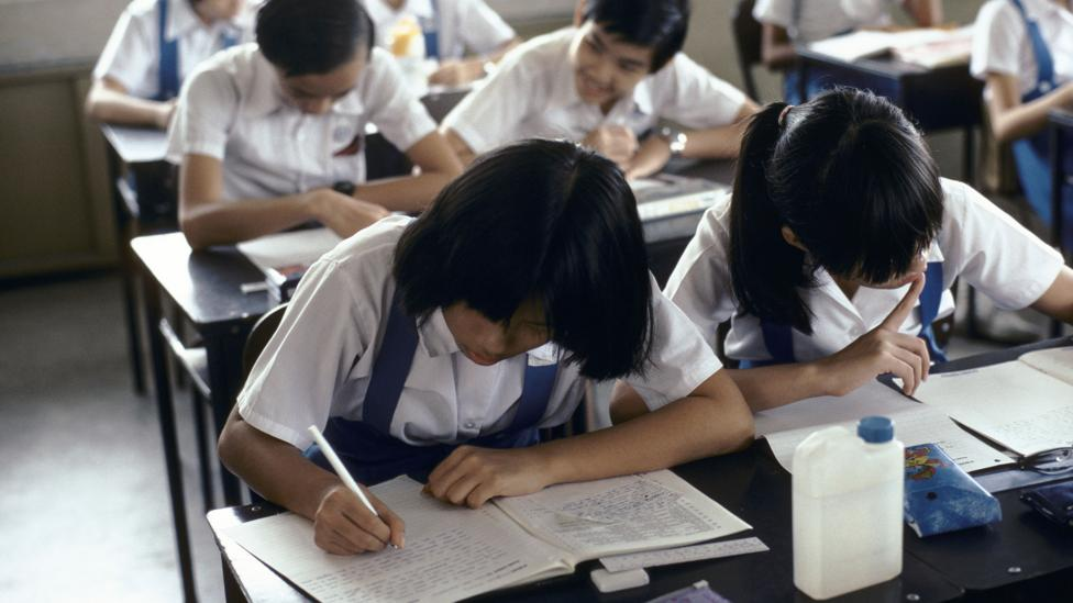 The schools were the soil in which Singlish sprouted, and it has now spread through all of everyday life (Credit: Alamy)