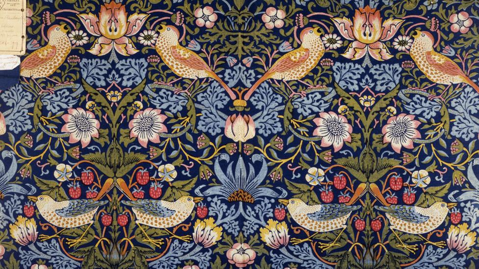 One of the fabrics created by Morris & Co, one of the many careers of the multi-talented William Morris (Credit: V&A Images/Alamy)