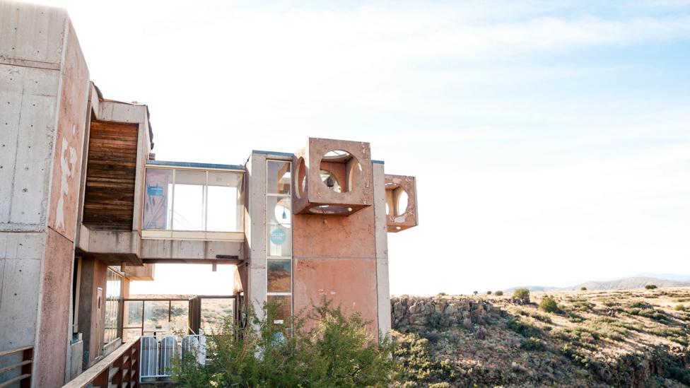 The Arcosanti collective in the Arizona desert is planned around concern for both the environment and design (Credit: Jim DeLillo/Alamy)