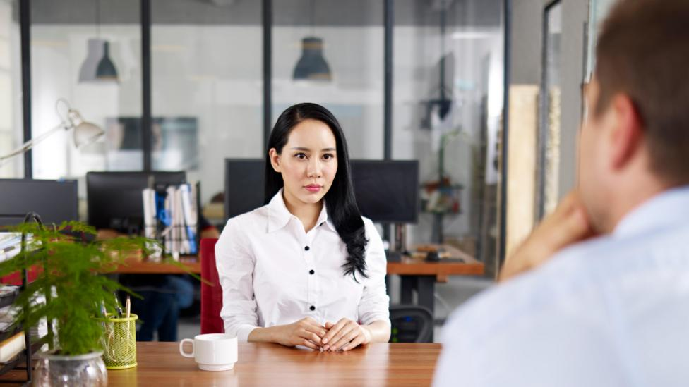 Interviewers look for sincerity and knowledge through appropriate eye contact (Credit: Alamy)