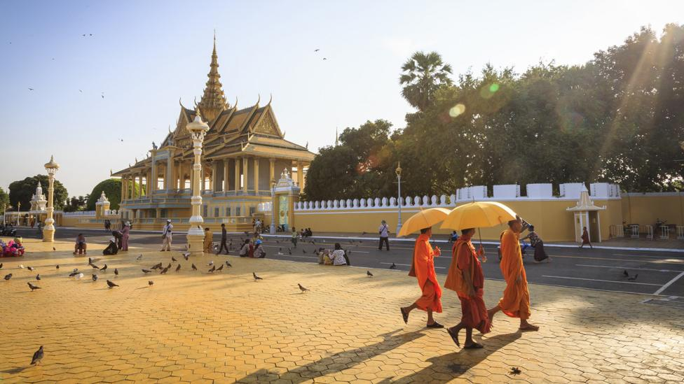 The Royal Palace is an excellent example of Phnom Penh's Khmer architecture (Credit: Getty Images)