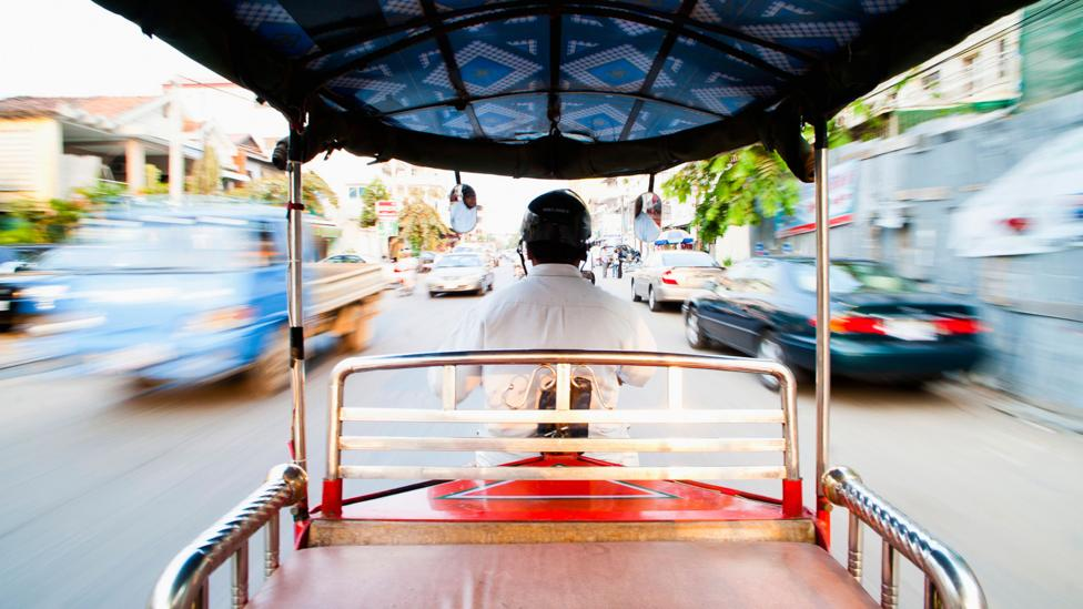 A tuk-tuk is a cheap and fast way to get around the city (Credit: Alamy)