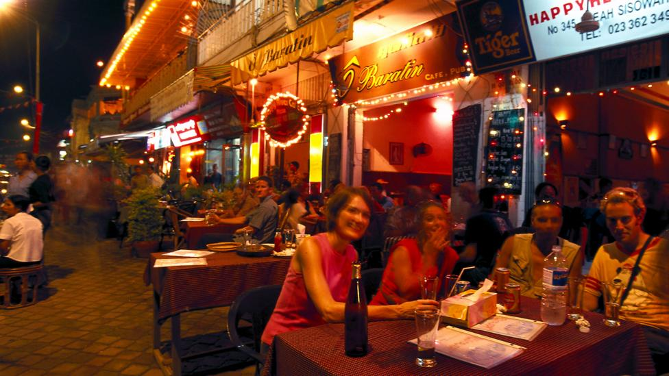 There are plenty of street bars and cafes, but recently new bars and restaurants run by long-term expats have opened (Credit: Alamy)