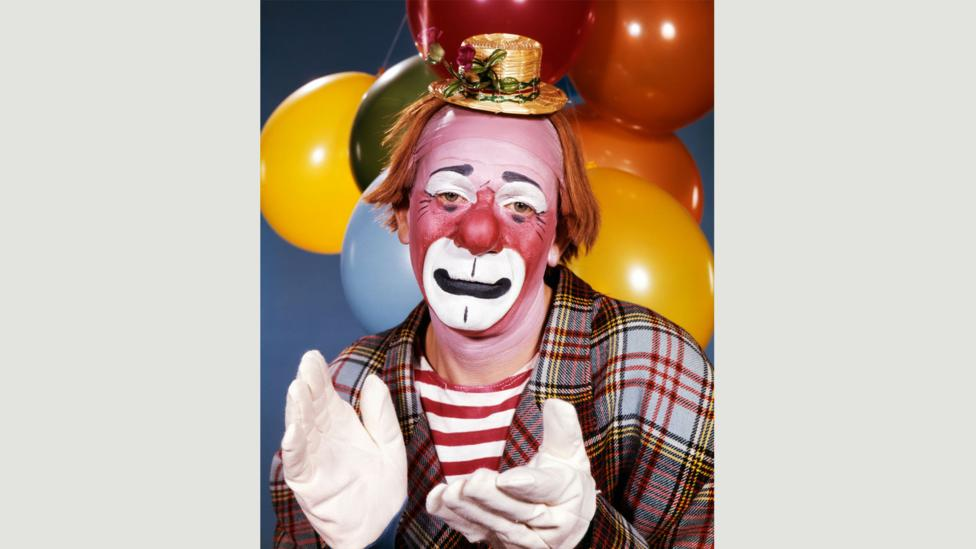 Psychologists have found that people find clowns creepy because they can't see their real expressions (Credit: Alamy)