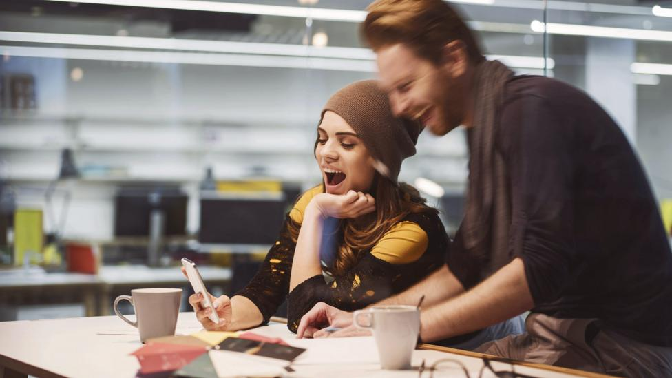 Work spouses share a sense of humour and have high levels of trust and support (Credit: iStock)