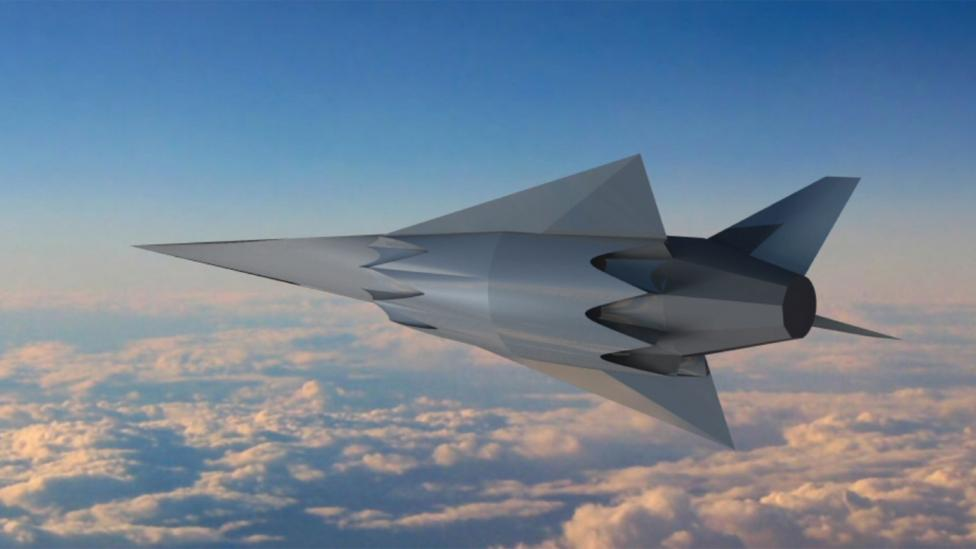 Once the scramjet has launched the satellite it can return to Earth for a runway landing (Credit: University of Queensland)
